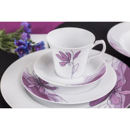 Venus Lilje - middag- og kaffeservise til 6 personer, 30 deler