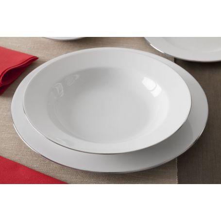 Venus Platinum - middag- og kaffeservise til 6 personer, 30 deler