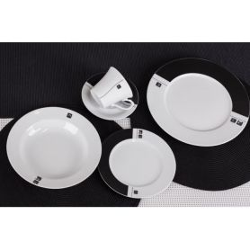 Venus Ying Yang - middag- og kaffeservise til 6 personer, 30 deler