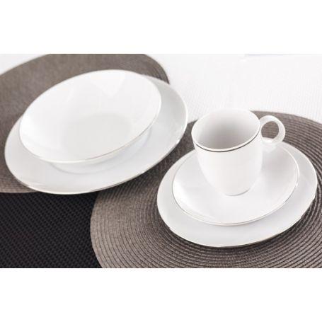 Quebec Lavendler - middag- og kaffeservise til 12 personer, 60 deler