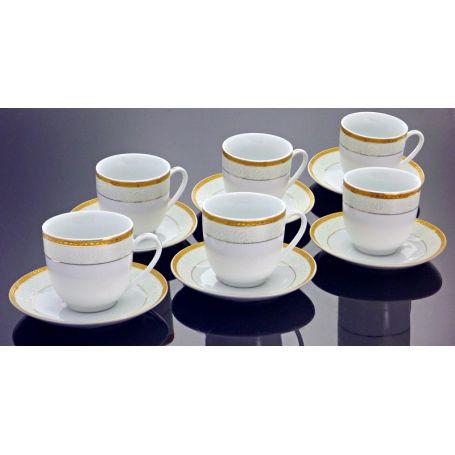 Lordene - seks kopper + asjetter, 12 deler