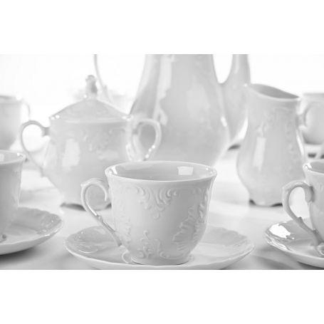 Rococo - kaffeservise til 12 personer, 27 deler