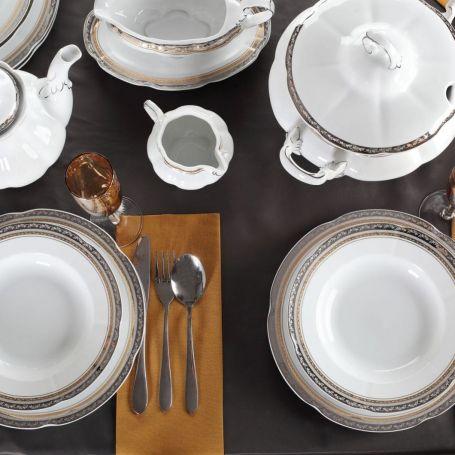 Bolero Prinsesse - middagsservise til 12 personer, 45 deler