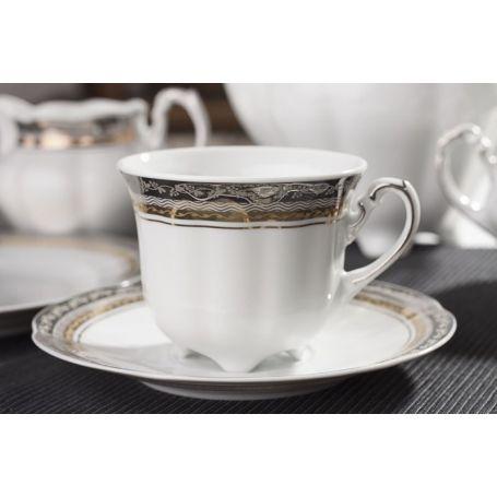 Bolero Prinsesse - kaffeservise til 12 personer, 39 deler
