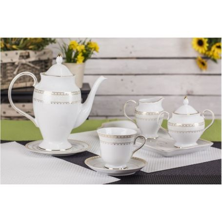 Astra Knipling - kaffeservise til 12 personer, 39 deler