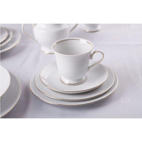 Astra Gul Linje - middag- og kaffeservise til 12 personer, 84 deler