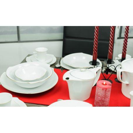 Dråppe Svart - middagsservise til 12 personer, 44 deler