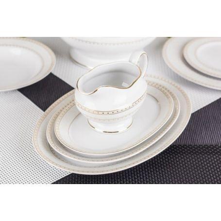 Astra Knipling - middag- og kaffeservise til 12 personer, 84 deler