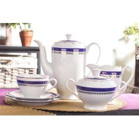 Feston Kobolt - kaffeservise til 12 personer, 39 deler