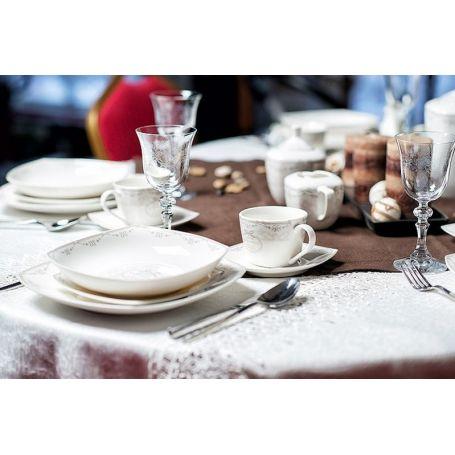 Duo Paris - middag -og kaffeservise til 6 personer, 33 deler