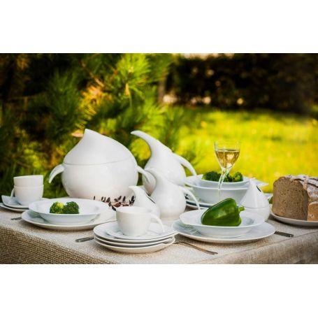 Dråppe - middag- og kaffeservise til 12 personer, 83 deler