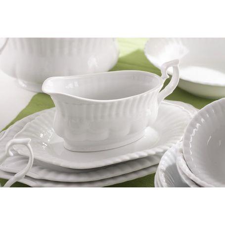 Iwona Hvitt - middag- og kaffeservise til 12 personer, 95 deler