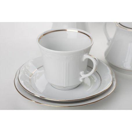 Kamelia Gull - middag- og kaffeservise til 12 personer, 84 deler