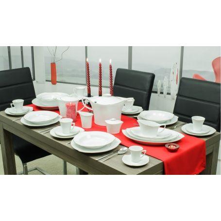 Happa - middag- og teservise til 12 personer, 59 deler