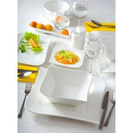 Ambition Wave - middagsservise til 12 personer, 42 deler