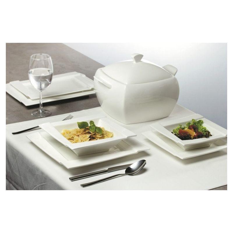 Ambition Kubiko - middagsservise til 12 personer, 42 deler