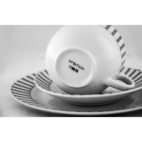 Venice Modern - middag -og kaffeservise til 6 personer, 30 deler