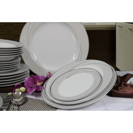 Yvonne Tezeo - middagsservise til 12 personer, 43 deler