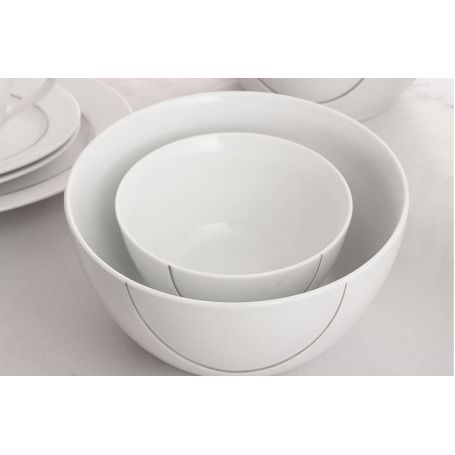 Vega Platinum - middag- og kaffeservise til 12 personer, 83 deler