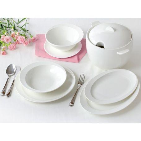 Ambition Tiffany - middagsservise til 12 personer, 42 deler