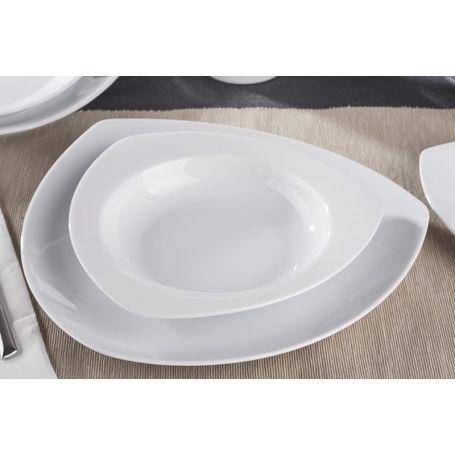 Kamelia Gul - middagsservise til 12 personer, 45 deler