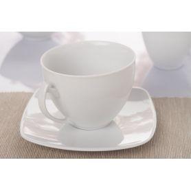 Akcent - kaffekopp 250 ml + asjett