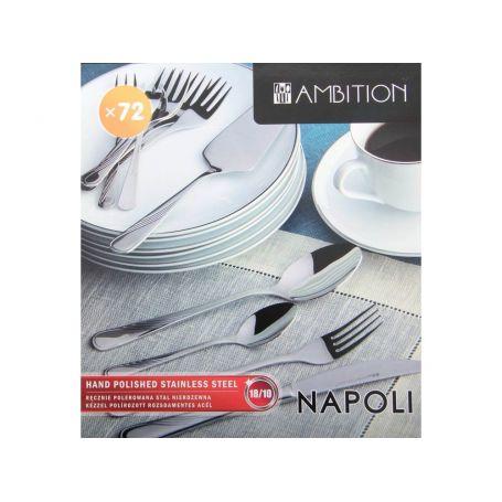 Napoli Ambition - bestikksett til 12 personer, 72 deler