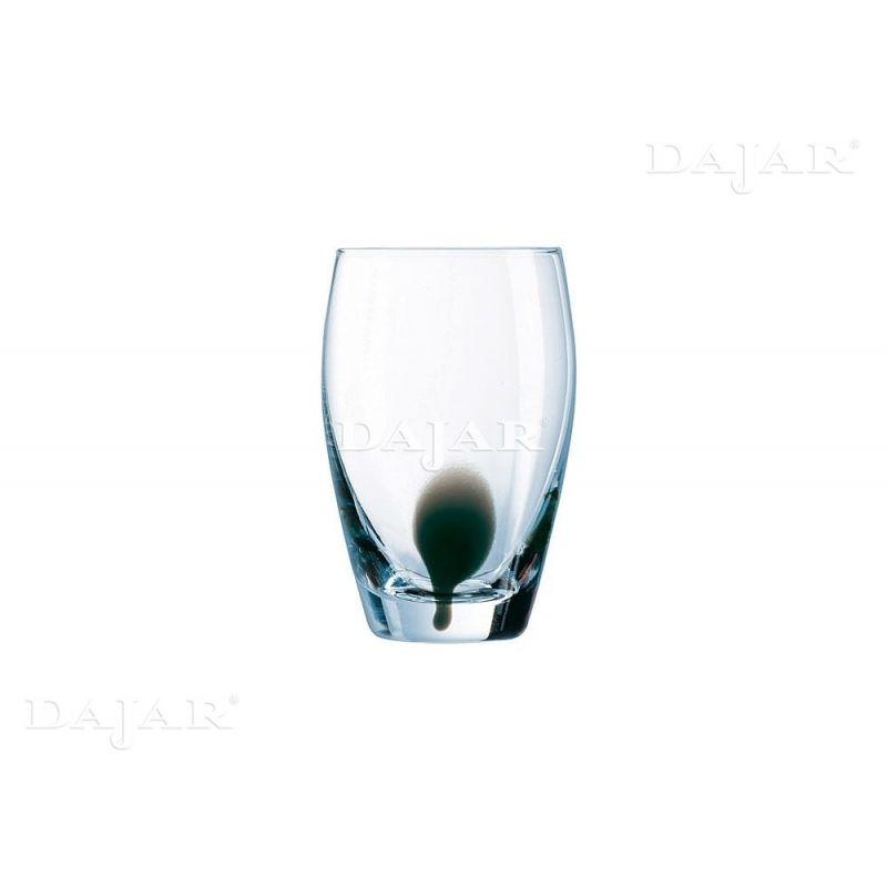 Luminarc Drip Black 350 ml -   glass 4 deler