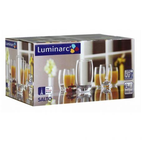 Luminarc Salto 350 ml -   glass 6 deler