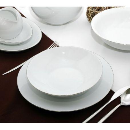 Quebec - middagsservise til 12 personer, 41 deler