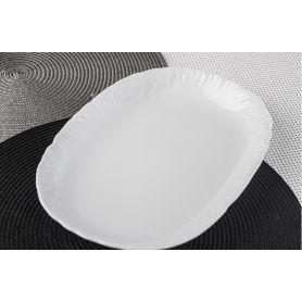 Rococo - oval serveringsfat 29 cm