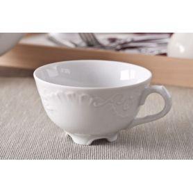 Rococo - kopp lav med asjett 24 cl