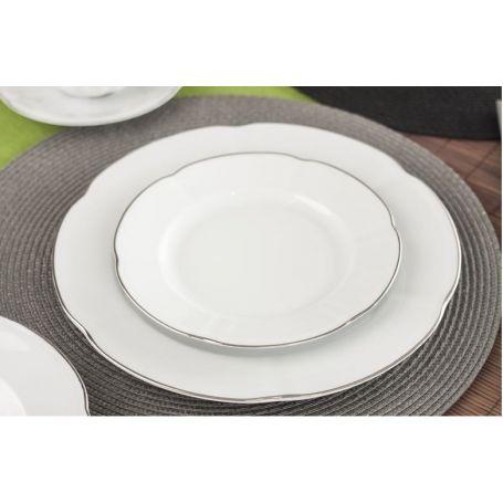 Bolero Platinum - middagsservise til 12 personer, 44 deler