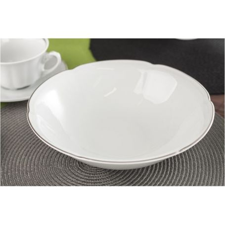 Bolero Platinum - middag- og kaffeservise til 12 personer, 83 deler