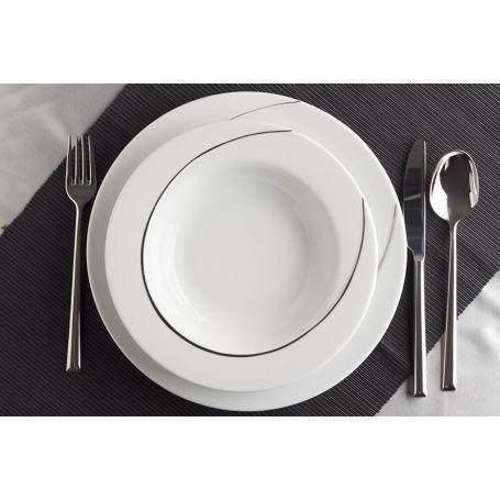 Vega Platinum - middagsservise til 12 personer, 45 deler