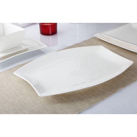 White - middagsservise til 12 personer, 40 deler