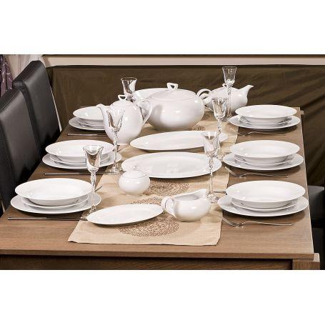 Yvonne - middagsservise til 12 personer, 43 deler