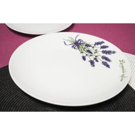 Lubiana Boss Lawenda - middagsservise til 6 personer, 18 deler