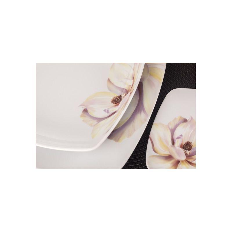Akcent Paeonia - middagservise til 6 personer, 18 deler
