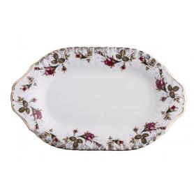 Iwona Rose - ovalt serveringsfat 39 cm