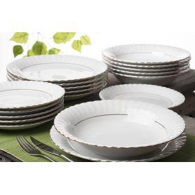 Iwona Gull - middagsservise til 6 personer, 18 deler