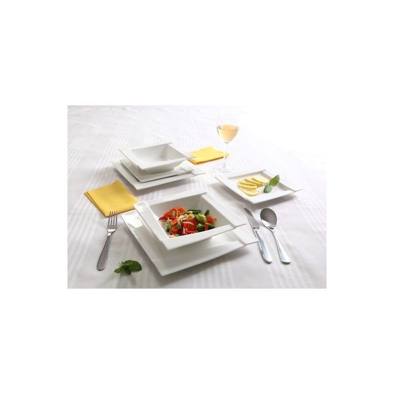 Kubiko - middagsservise til 6 personer, 18 deler