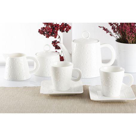 Alfa - kaffeservise til 6 personer, 15 deler