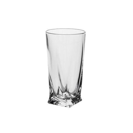 Vannglass Crystalite Quadro sett - 7 deler