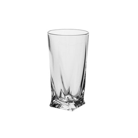 Long Drink Crystalite Quadro - 6 deler