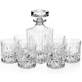 Whisky Crystalite Classico sett - 7 deler