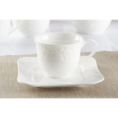 Duo Violet - kaffeservise til 6 personer, 15 deler