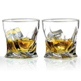 Whisky Crystalite Quadro 34 cl - 6 deler