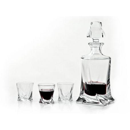 Whisky karaffel Quadro 50cl - 1 stk