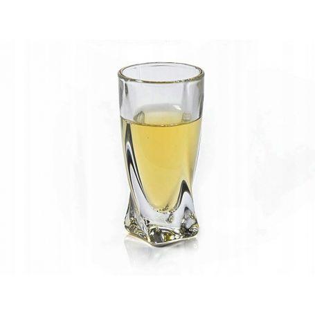 Drammeglass Crystalite Quadro 8 cl -  6 stk